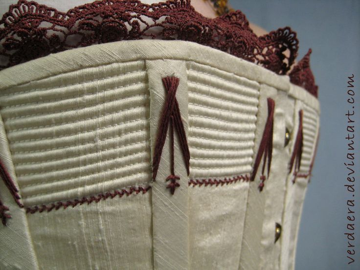 Victorian Corset Detail by Verdaera.deviantart.com on @deviantART