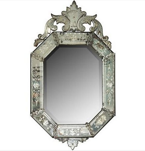 Vintage Venetian Mirror   Statement Pieces: Furniture   Pinterest