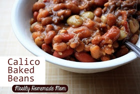 Mostly Homemade Mom: Calico Baked Beans | What's for Dinner? | Pinter ...