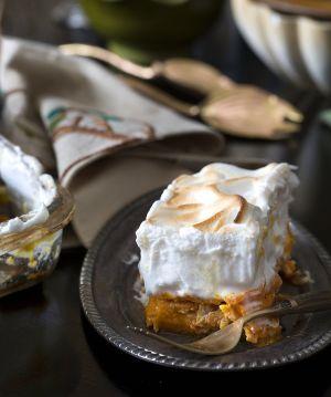 Smoky Sweet Potato Gratin with Maple Marshmallow Crème : Lifestyles