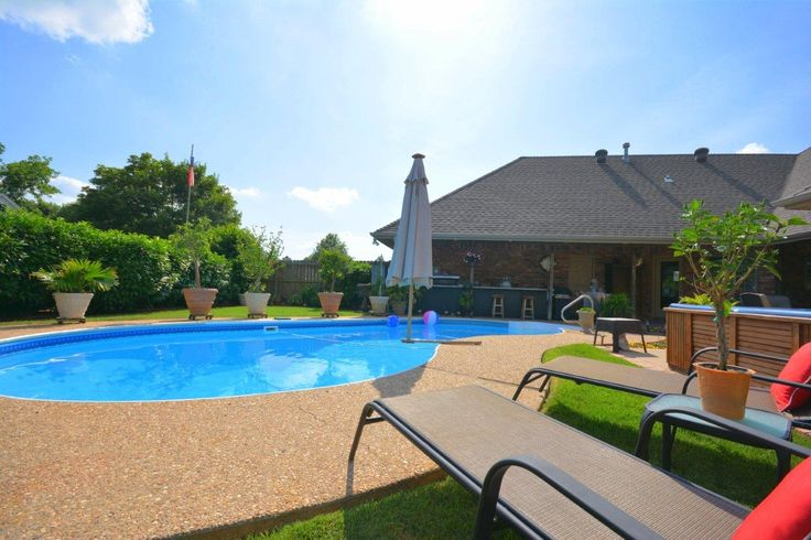 Pin by nicky dou on homes in northwest arkansas pinterest for Inground pools for sale