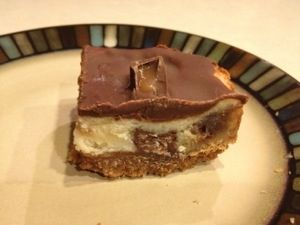 Rolo Cheesecake Bars   Chick Chat T&T Recipes   Pinterest