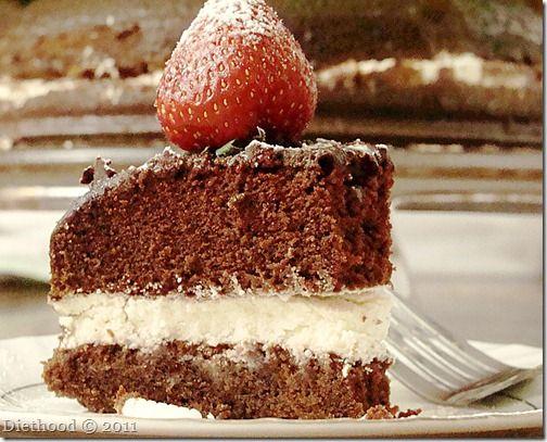 Chocolate Olive Oil Cake | diethood.com
