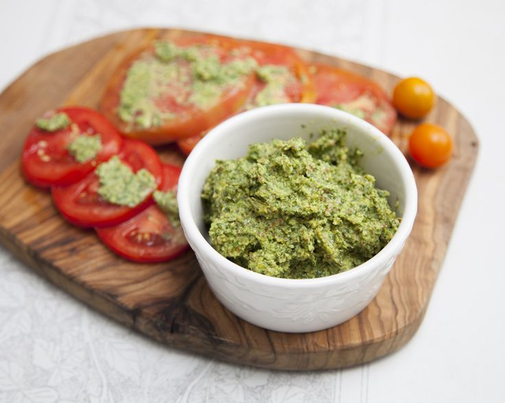 Fresh Basil Pesto with Almonds | Get Cookin | Pinterest