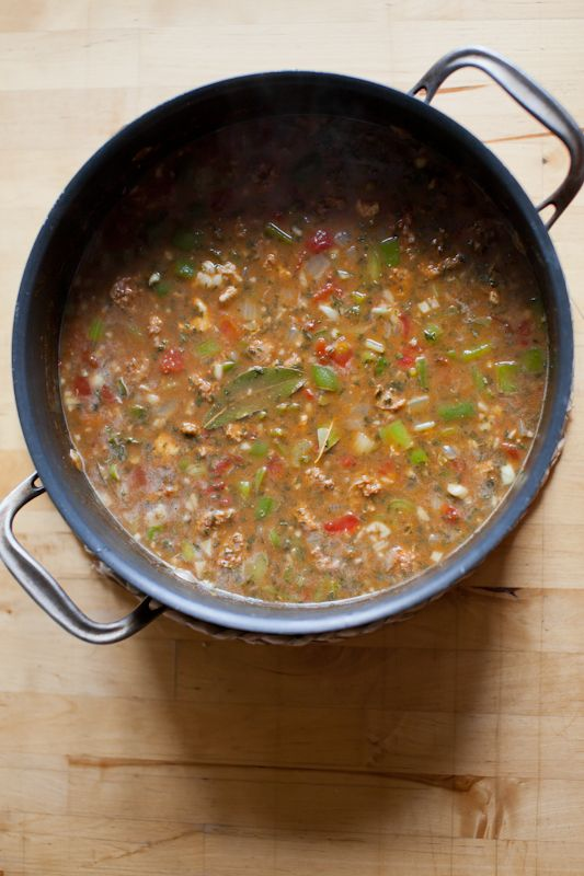 spicy chicken amp andouille sausage gumbo recipe