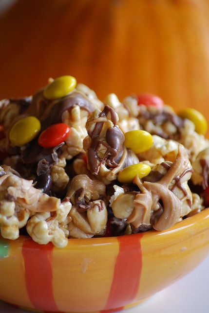 HalloweenPopcorn by yourhomebasedmom, via Flickr
