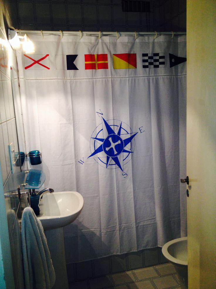 Cortina De Baño Original:Cortina de baño para el capitan