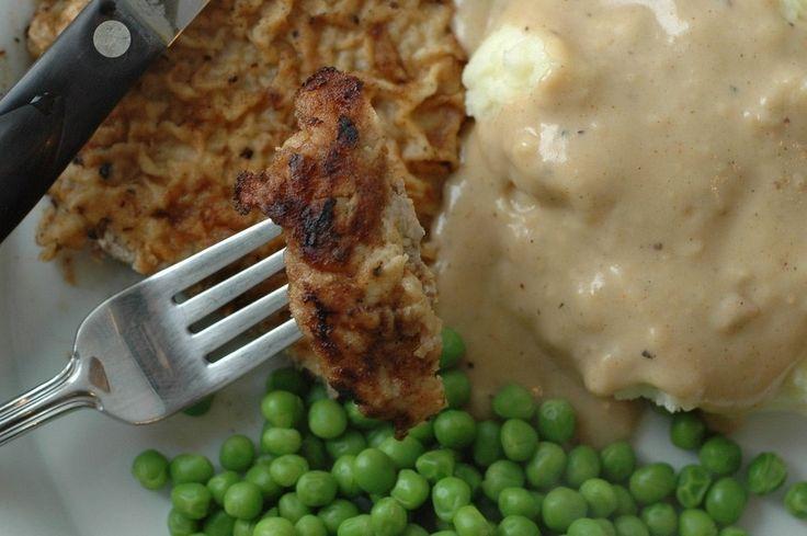 Pan-Fried Steak Recipe — Dishmaps