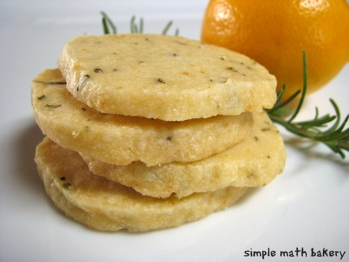 meyer lemon rosemary shortbread cookies | Creating Desserts | Pintere ...