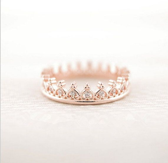 crown ring in gold princess crown ring gold