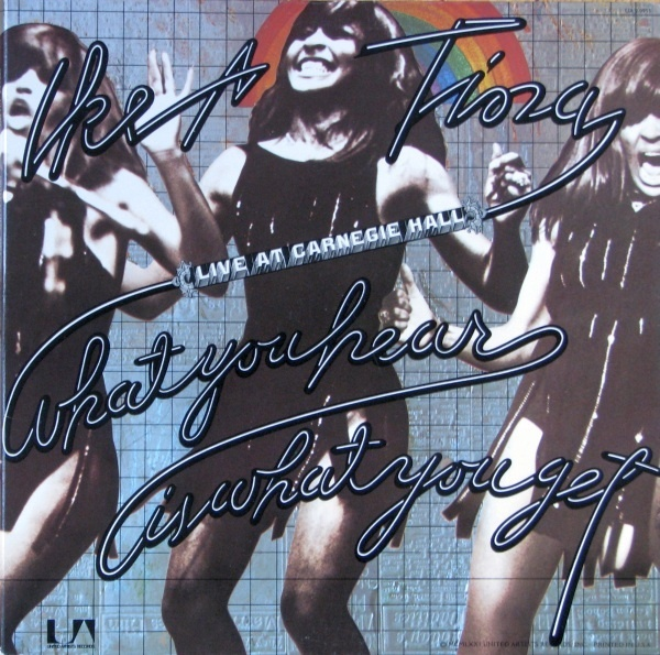 Ike and Tina Turner LIVE vinyl album