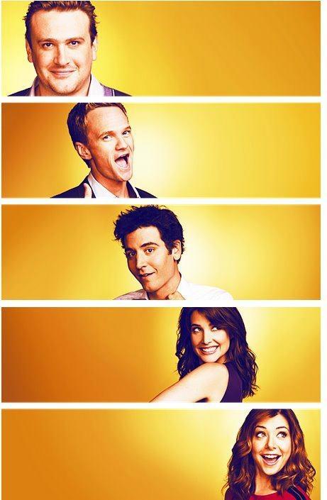 Barney,marshall,robin,ted,lily <3 hımym