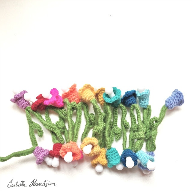Christmas light strand | Hooked | Pinterest
