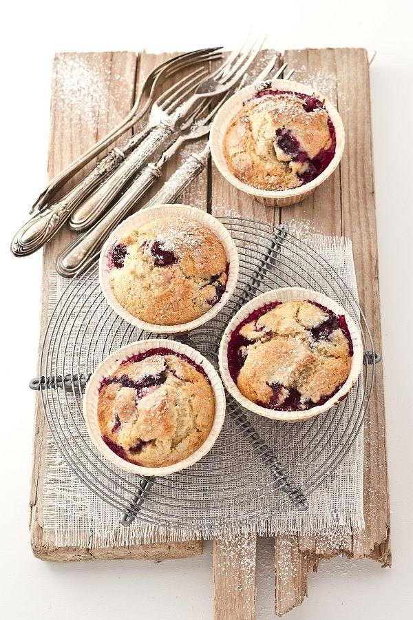 muffin con cuore di marmellata / muffins with jam heart recipe