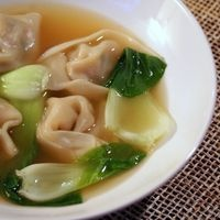 Wonton Soup with Bok Choy Recipe - - Oh, and I like to make a double ...