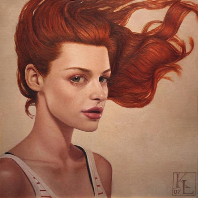Famous Painting Of Redhead Girl