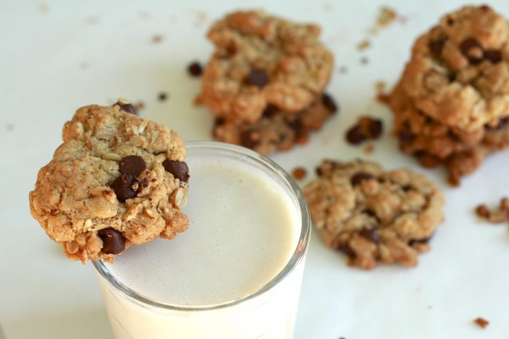 BUTTERLESS Oatmeal Chocolate Chip Cookies: Really easy and I can't ...