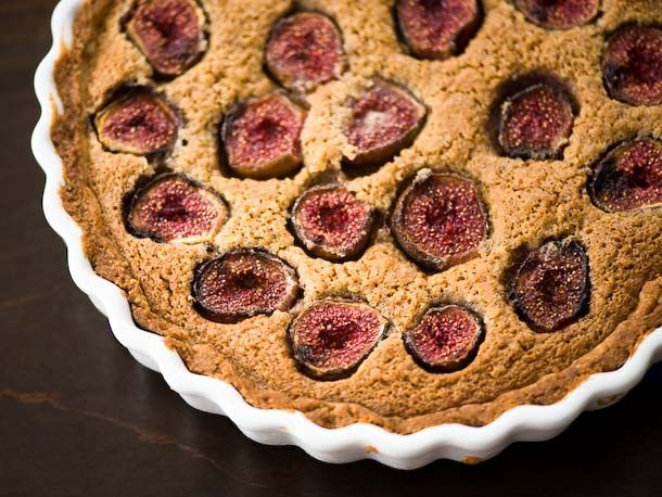 Fresh Fig and Hazelnut Tart Recipe | Food | Pinterest