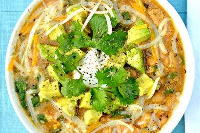 Chicken Chili Verde With Avocado | Tasty Kitchen