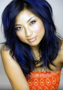 Jeannie Mai blue hairJeannie Mai Hair