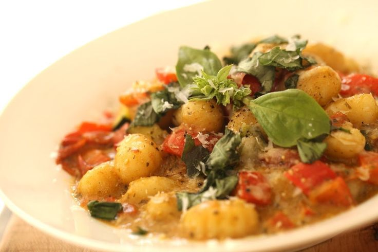 Beths Gnocchi Pesto (REAL-TIME RECIPE!) | Real Food Yummy Treats | Pi ...