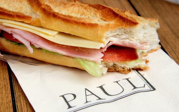 Paul Baguette Sandwich | baguette | Pinterest
