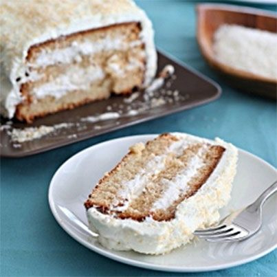 Coconut Layer Cake | Gluten free - sweets | Pinterest