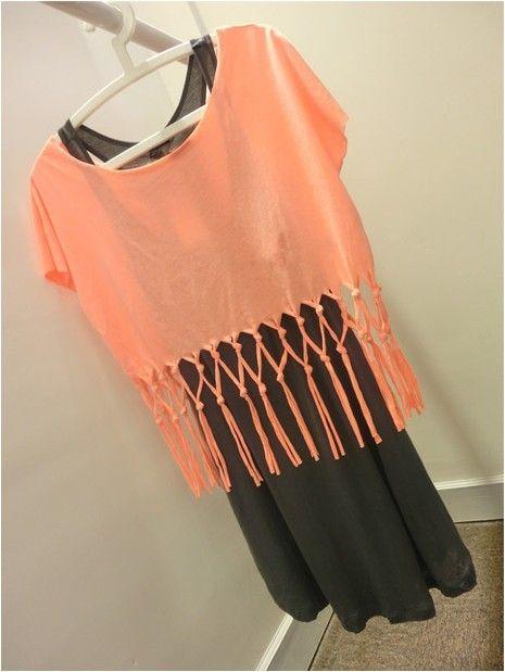 ... pcs Women's Tassels Dress Top Skirt Vest Loose T-Shirt Short Sleeve
