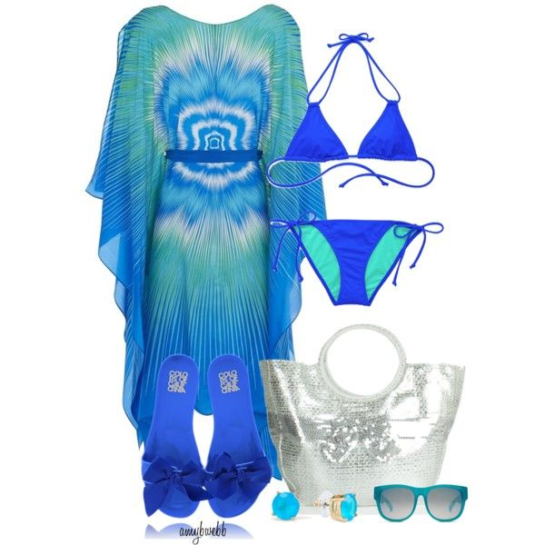 """VS Swim 3"" by amybwebb on Polyvore"
