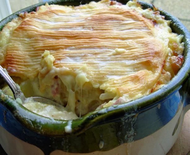 ... Melted Cheese, Bacon And Potato Gratin Recipe - Food.com - 331135