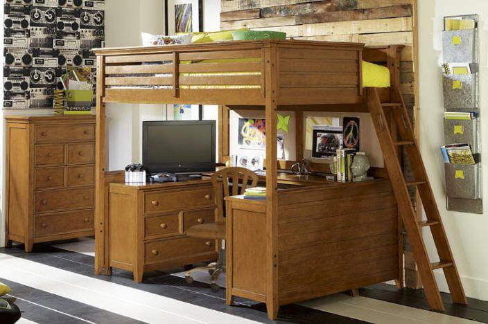 Guthrie full size loft bed mason s room pinterest