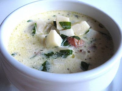 parsnip chowder with bacon and parsley | Recipes | Pinterest