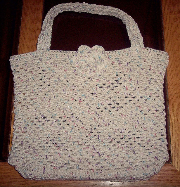 Crochet Grocery Bag Pattern : Grocery bag free crochet pattern Crochet Foibles Pinterest