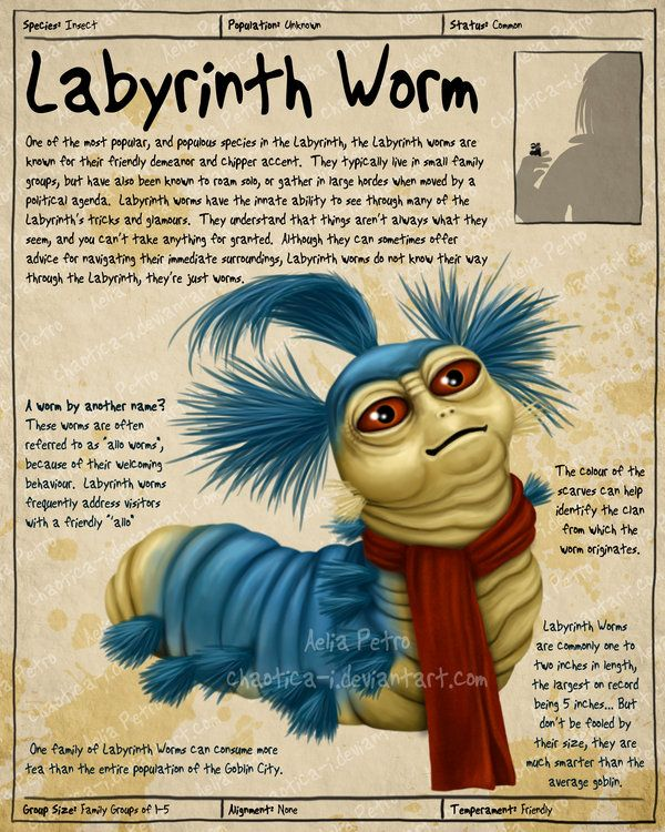 Gallery For gt Labyrinth Movie Worm