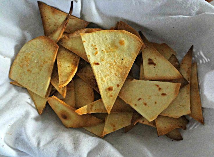 Homemade Baked Tortilla Chips | Recipes - Munchies & Snacks | Pintere ...