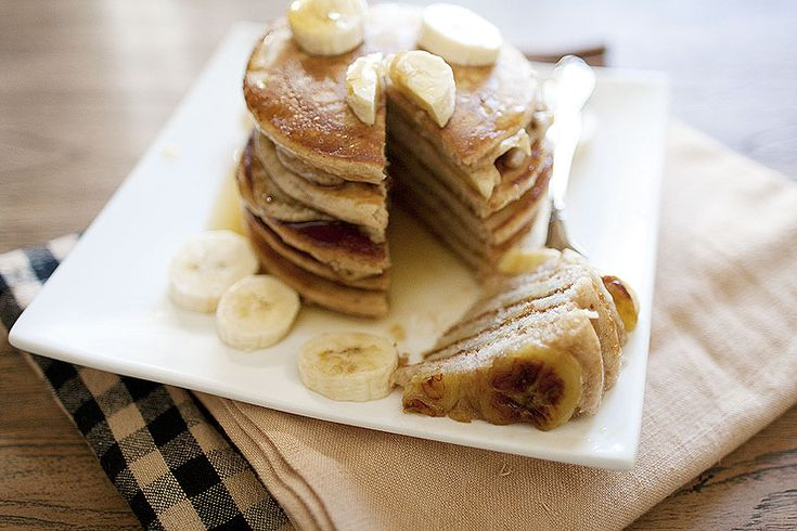 Bananas Foster Pancakes | Morning Glory | Pinterest