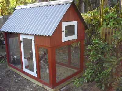 Easy build chicken coop plans coop roost and run in one for Easy way to build a chicken coop