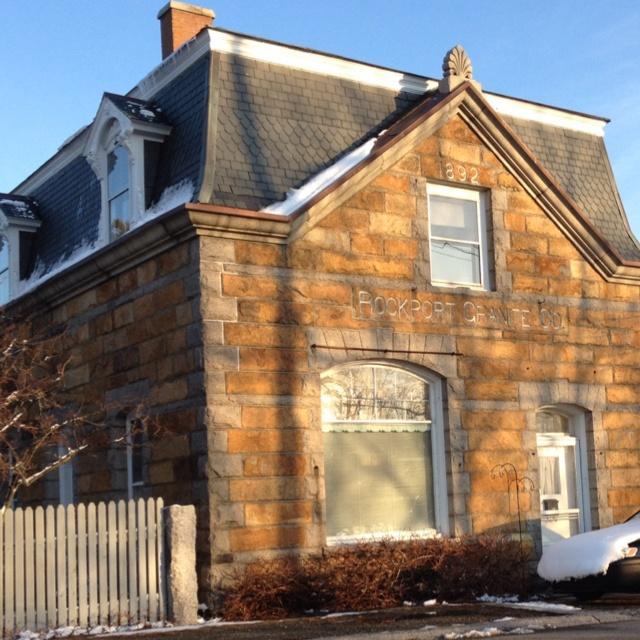 Granite Company : Rockport granite company stone houses Pinterest