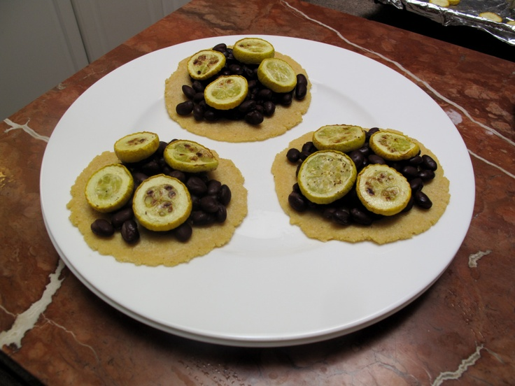 ... summer squash tacos with Mom in Atlanta - the last of the summer