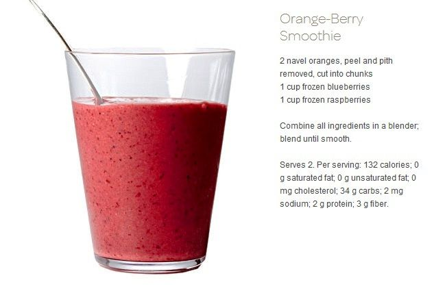 Orange Berry Smoothie | DRANKS!!! | Pinterest