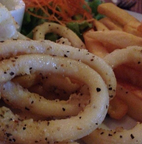 Calamari Rings Recipe — Dishmaps