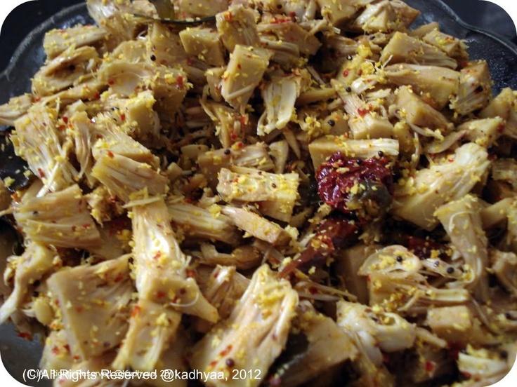 Tender Jackfruit/ Gujje Dry Fry/Sabji