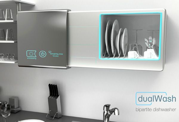 futuristic dishwasher; cool gadgets