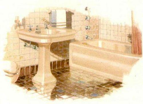 Kohler Tub Colors : ... first colors for bathroom fixtures ? Kohler introduces sink, tub