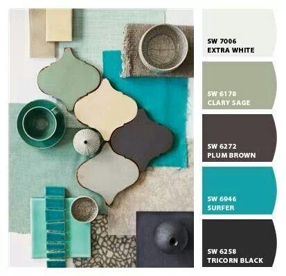 calm relaxing color scheme colourful colour templates pinterest