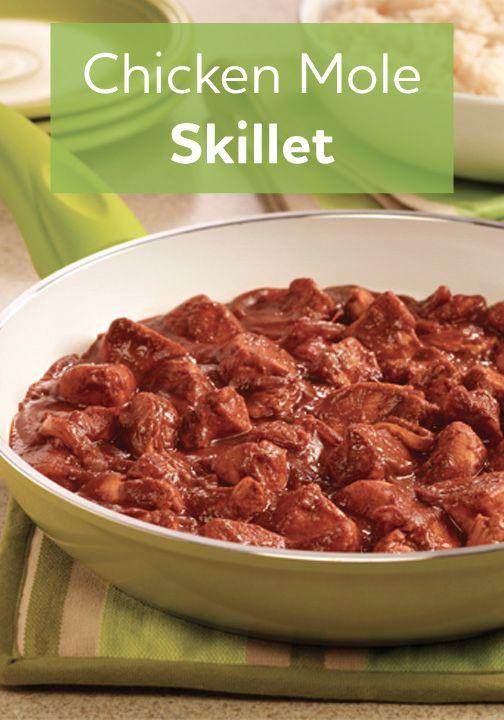 Chicken Mole Skillet   Recipe