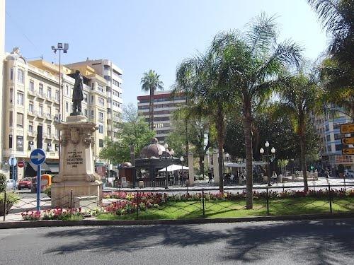 Plaza de Calvo Sotelo. Alicante