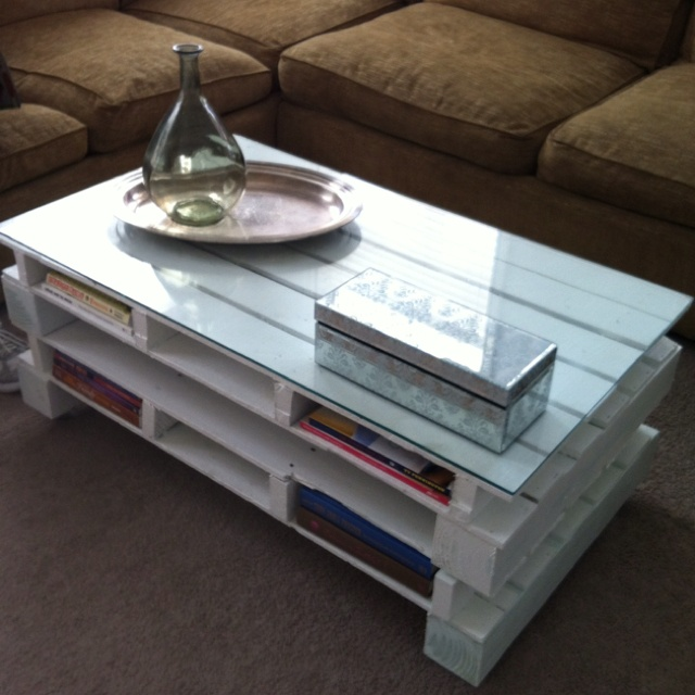 Pallet Coffee Table For The Home Pinterest