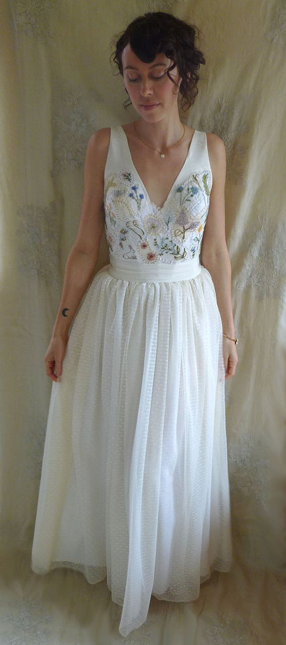 Wedding dress preservation atlanta : Meadow wedding gown whimsical country woodland fairy boho free people