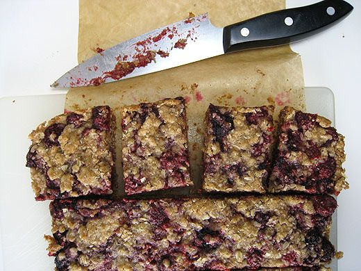 Raspberry Breakfast Bars -- looks good, I'm going to see if I can ...